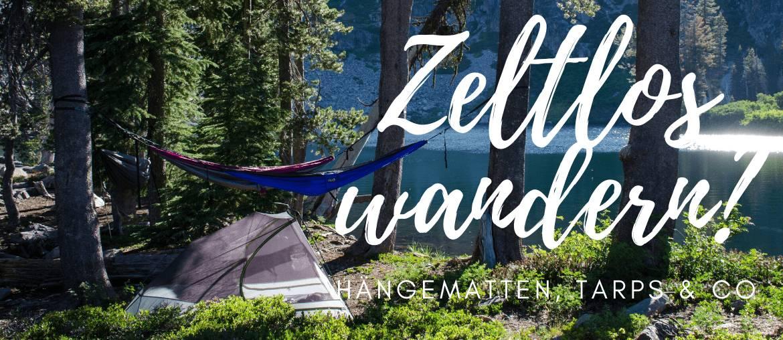 Alternativen zum Zelt