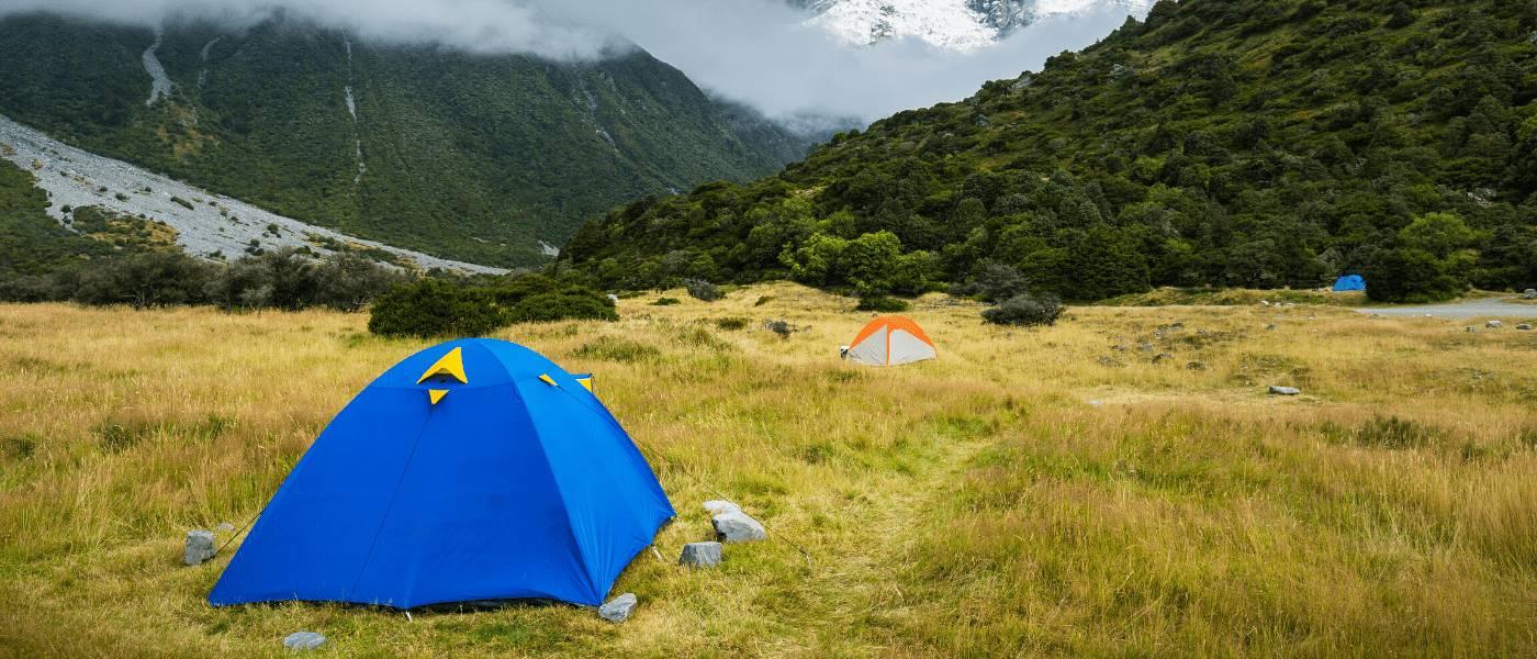 Zelten auf dem Jakobsweg 1