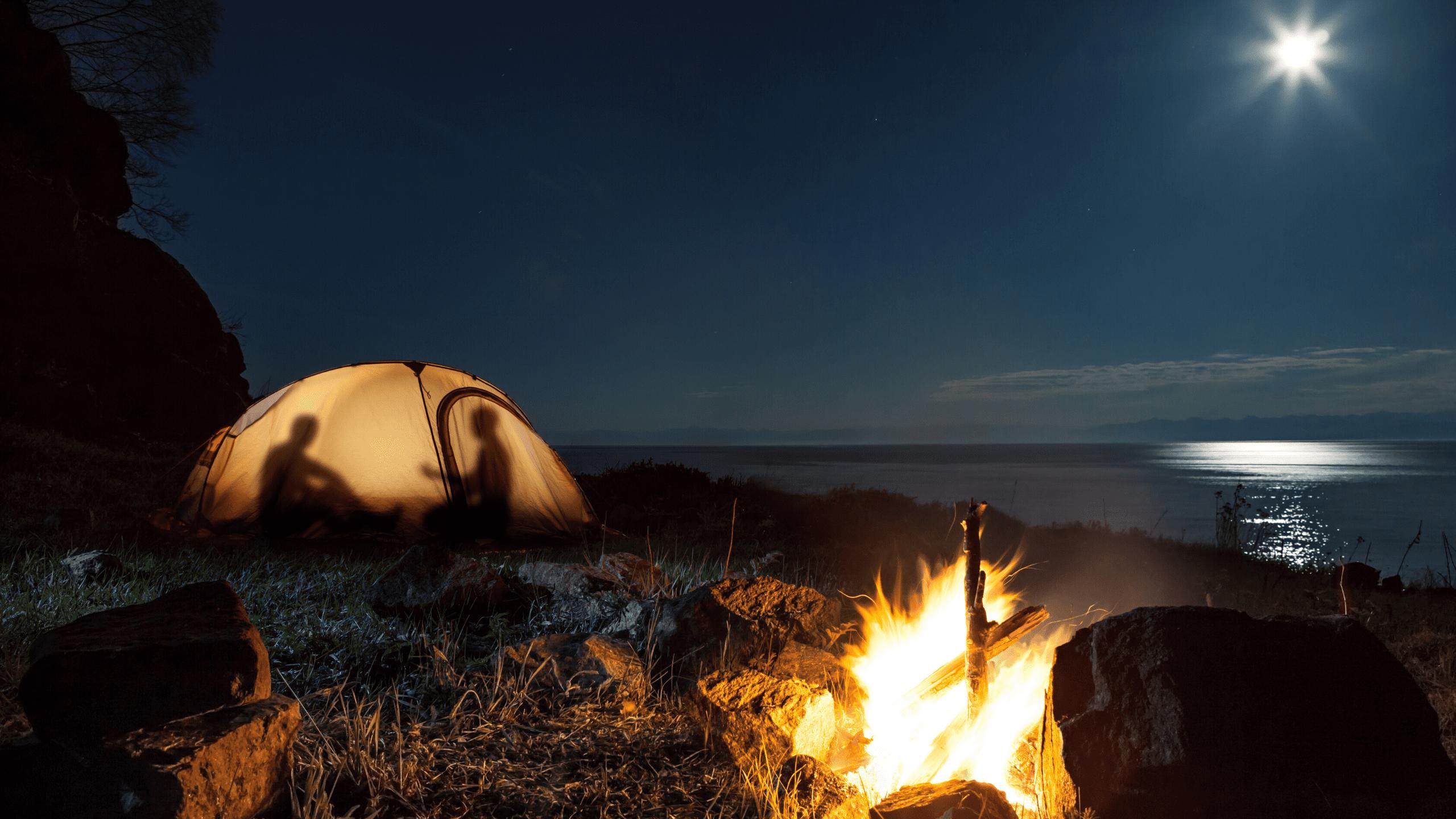 Zelten auf dem Jakobsweg 3