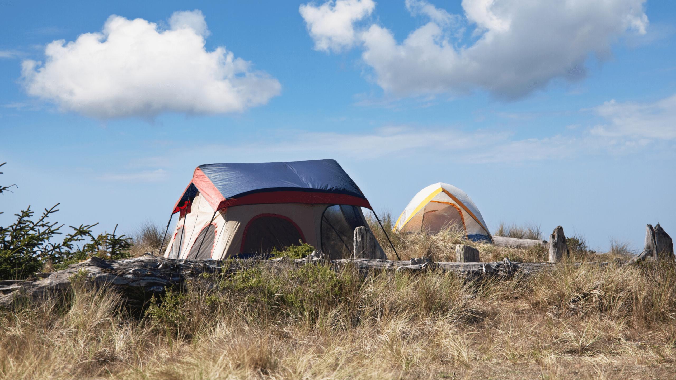 Zelten auf dem Jakobsweg 4