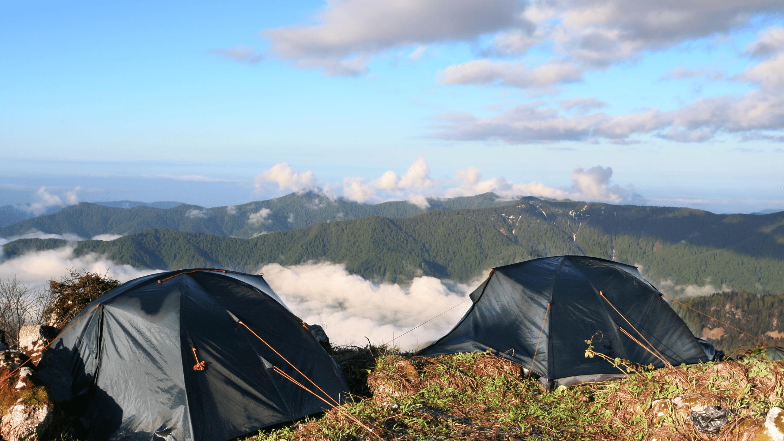 Zelten auf dem Jakobsweg 5