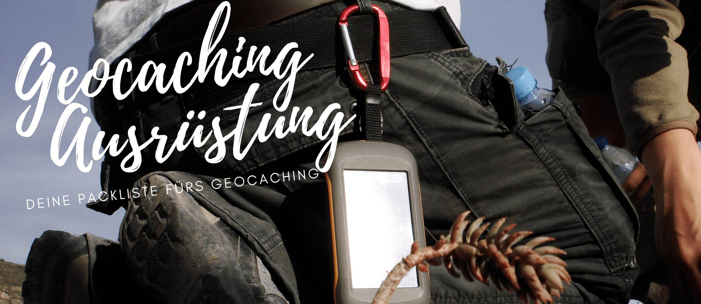 Geocaching Equipment Ausrüstung