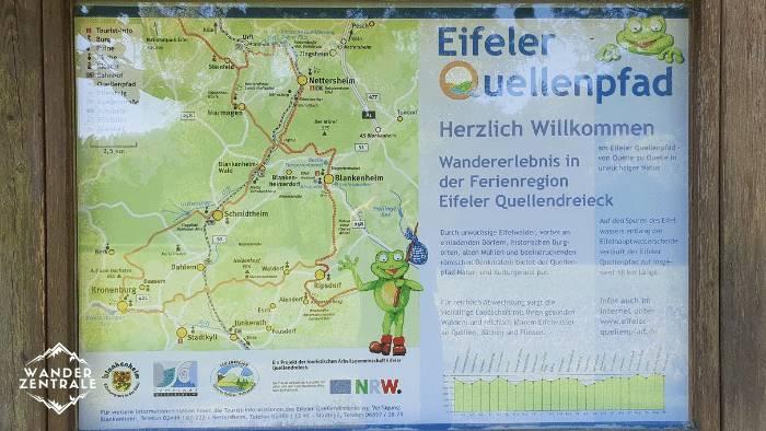 Quellenpfad in der Eifel
